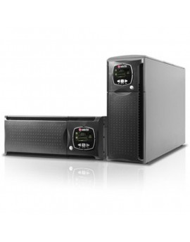 Series Sentinel Dual (TM-3-fase in - 1-fase out) (SDL) - Hight power 3.3_10 kVA (1:1) (3:1) - On line double conversión - Tower/