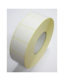 Matte white labels 80x30mm (18000 labels/box)