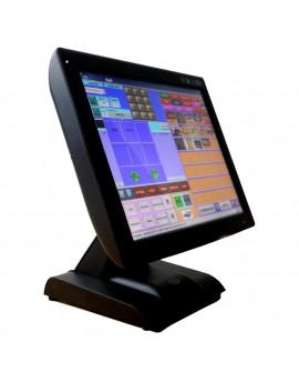 """KT-700 LED, Touch POS 15 """", SSD, J1900N Quad Core 1,97Gh, Fanless, with integrated viewer."""