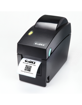 DT2x. 203dpi direct thermal labeler. Width 54 mm, speed 177 mm/sec. USB, Serial and Ethernet