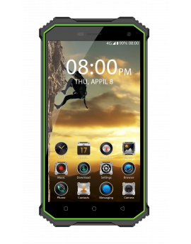 "MAX 20, PDA 5"" HD, Android 7.0, QuadCore, 2+16Gb, 5+13MP, 4000mAh, Gorilla glass, IP68"