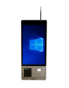 "Kiosk 27 W, Touch Kiosk Capacitive, 27"" Led, QuadCore J1900, 2.0Ghz, 4Gb DDR4, 64Gb SSD Msata, Thermal Printer 80mm, Scanner 2D,"