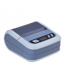 ILP-80 Portable BT, Impresora de tickets y etiquetas, 70mm/s, USB y BT, Gris, con funda incluida