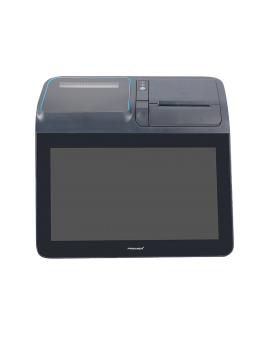 KT-116 A - TPV All in one, Android 7.1, 11,6 inch capacitive, RK3288, 2GB RAM, 16 GB Flash, Printer 80mm, VFD 2x20